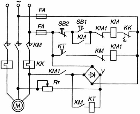 электрическая схема платы управления