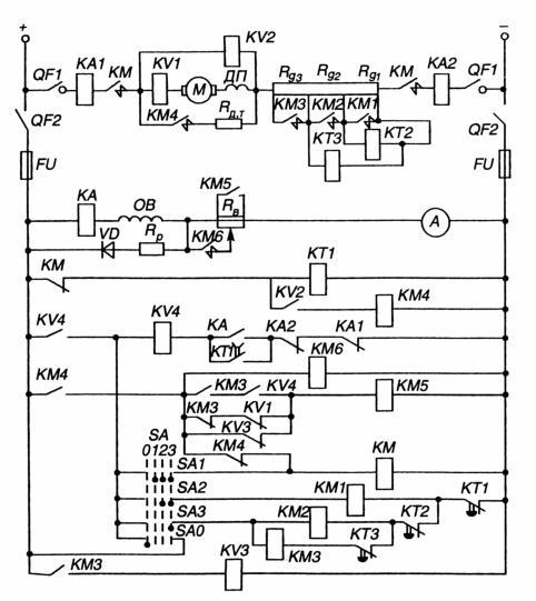 Двигатель постоянного тока независимого схема включения двигателя постоянного тока Двигатель постоянного тока...